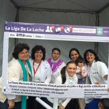 Semana Mundial de la Lactancia Materna Ciudad de México