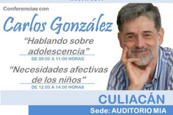 Conferencias con Carlos González
