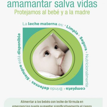 En Emergencia, Amamantar Salva Vidas!