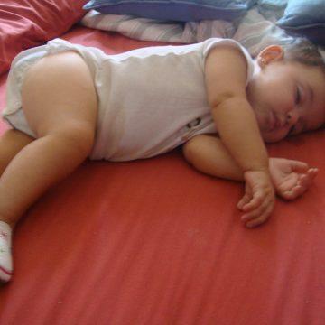 ¿Cuándo va a dormir toda la noche mi bebé?