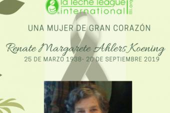 En memoria de Renate Margarete Ahlers Koening