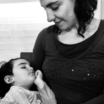 La historia de mi maternidad. ¡Mi hija me cambió mi visión de vida completamente!.- Por Teresa Guerra Martínez